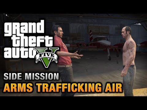 GTA 5 - Arms Trafficking Air