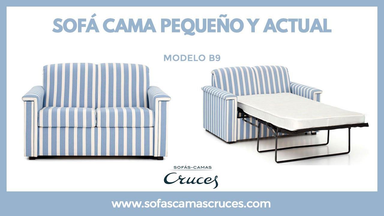 Sof cama peque o y funcional ideal para apartamentos for Sofa cama pequeno conforama