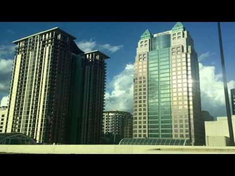 Driving Downtown Orlando Edit