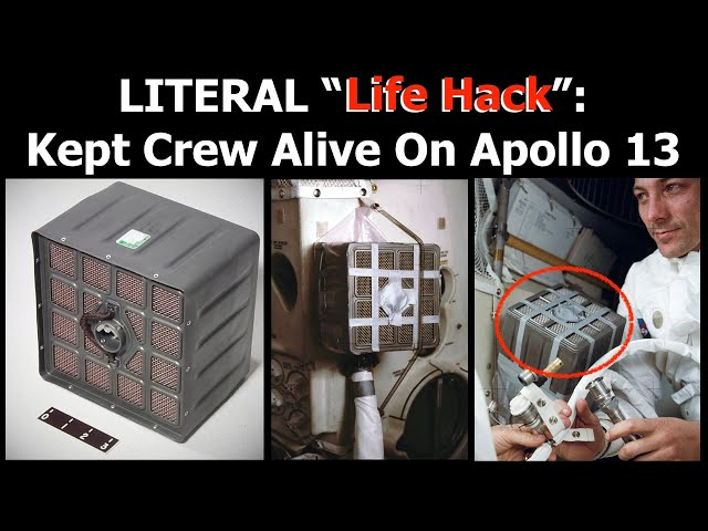 Recreating The Air Filter Hack Used By Apollo 13