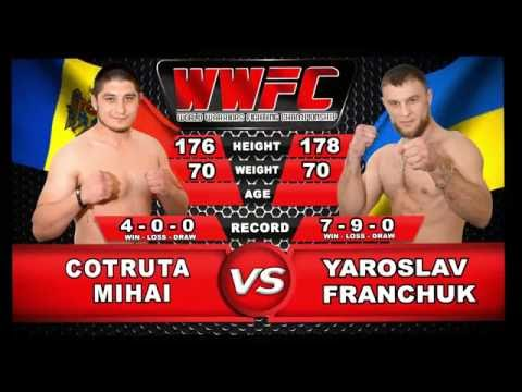 WWFC Warriors Honor II - Cotruta Mihail (Moldova) VS Yaroslav Franchuk (Ukraine)