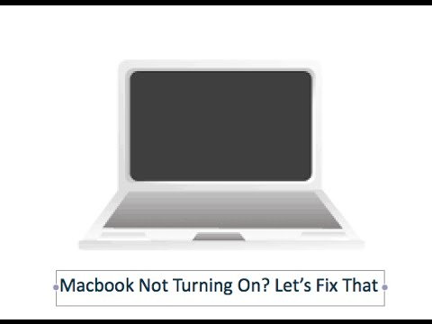 Sometimes when you troubleshoot a MacBook MacBook Pro or MacBook Air problem you need to turn it on without using the power button Is it possible Yes it is! In