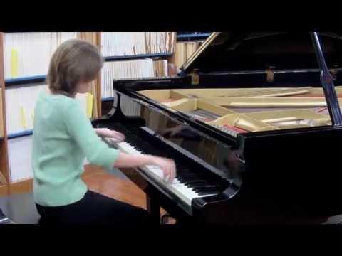 Rachel Flowers - Malambo - Alberto Ginastera - solo piano