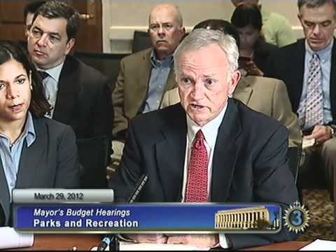 FY13 Parks & Recreation Budget Hearing, 03/29/12
