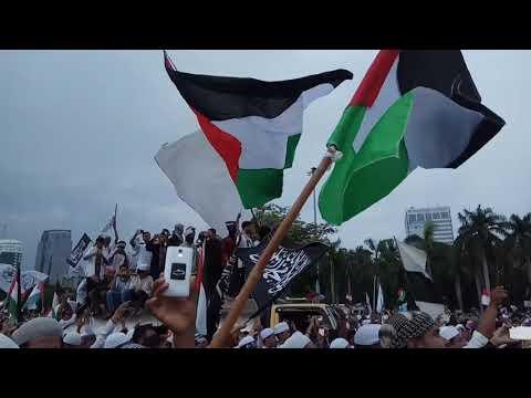 Shoutul Harokah - Palestina Tercinta ( Aksi Bela Palestina Live @Monas Ahad 17 Desember 2017