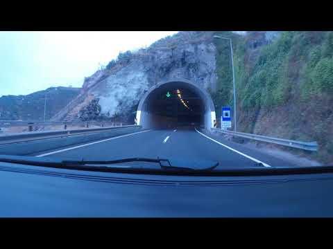 Driving Madeira Sâo Martinho/Funchal to Seixal