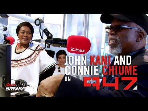 947 #BlackPanther interview with EXCLUSIVE off-air conversations