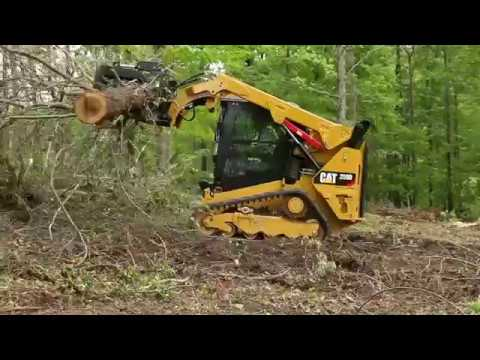 Cat® Industrial Grapple Rake Overview