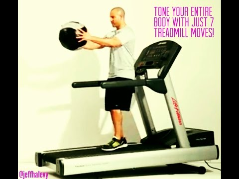 Tone Your Entire Body With Just Seven Treadmill Moves