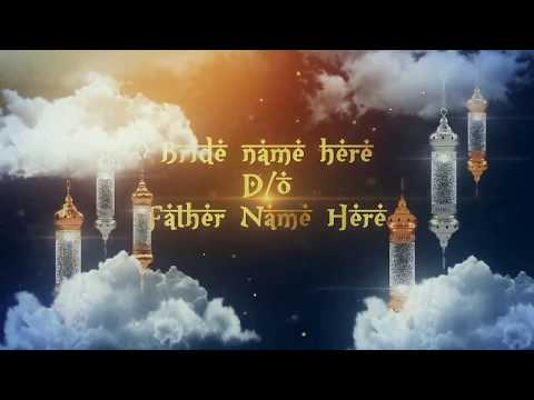 nikah-invitation-video-l-islamic-wedding-invitation-🔴