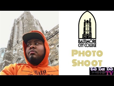 Baltimore City College High School PhotoShoot (TJ Da DJ TV)