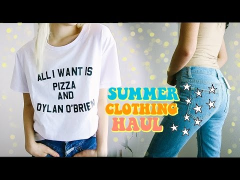 Summer Clothing TRY-ON Haul 2017!