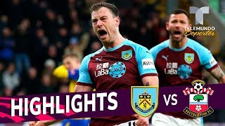 Burnley vs. Southampton: 1-1 Goals & Highlights | Premier League | Telemundo Deportes