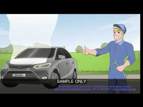 Gold Coast Car Repairs Video Animated | Best Car Mechanics Gold Coast