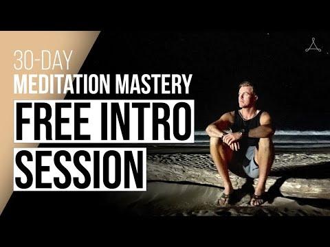 FREE Introduction Session - 30-Day Meditation Mastery with Bentinho Massaro