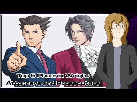 Top 5 Phoenix Wright Attorneys and Prosecutors – Turnabout Randon