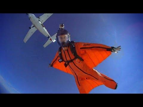Extreme Sport - Wingsuit  salah satu olahraga paling extrim di dunia