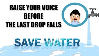 Save Water Animation Short Film   Educational video