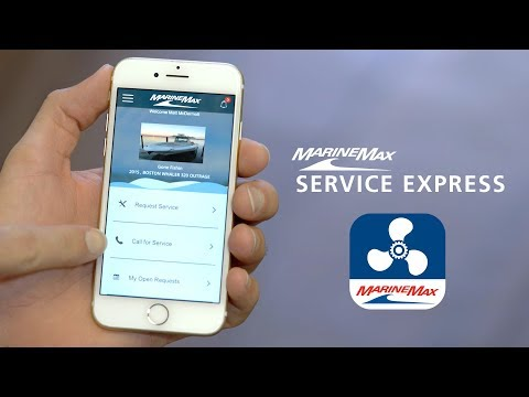 Introducing the MarineMax Service Express App