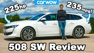 The French BMW M340i Touring - Peugeot 508 SW Hybrid review!