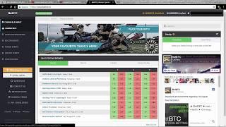 BetBtc / Trade Esportivo / Exchange Bitcoin