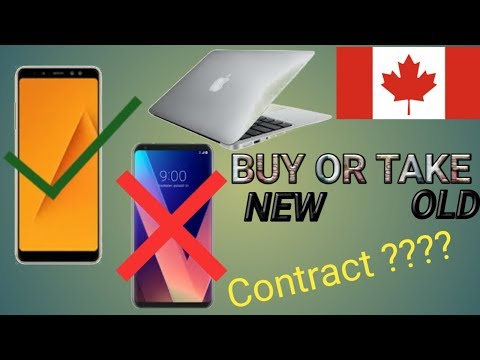 Indian Mobile And Laptop In Canada, Will They Work ? Mobile In Contract Freshy Canadian