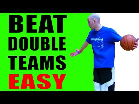EASY Basketball Moves To BEAT Double Teams! Basketball Basics For Beginners