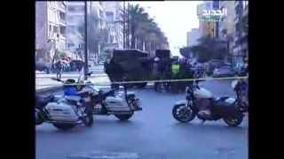 حملة مداهمات للجيش اللبناني في الطريق الجديدة وقطع طريق كورنيش المزرعة