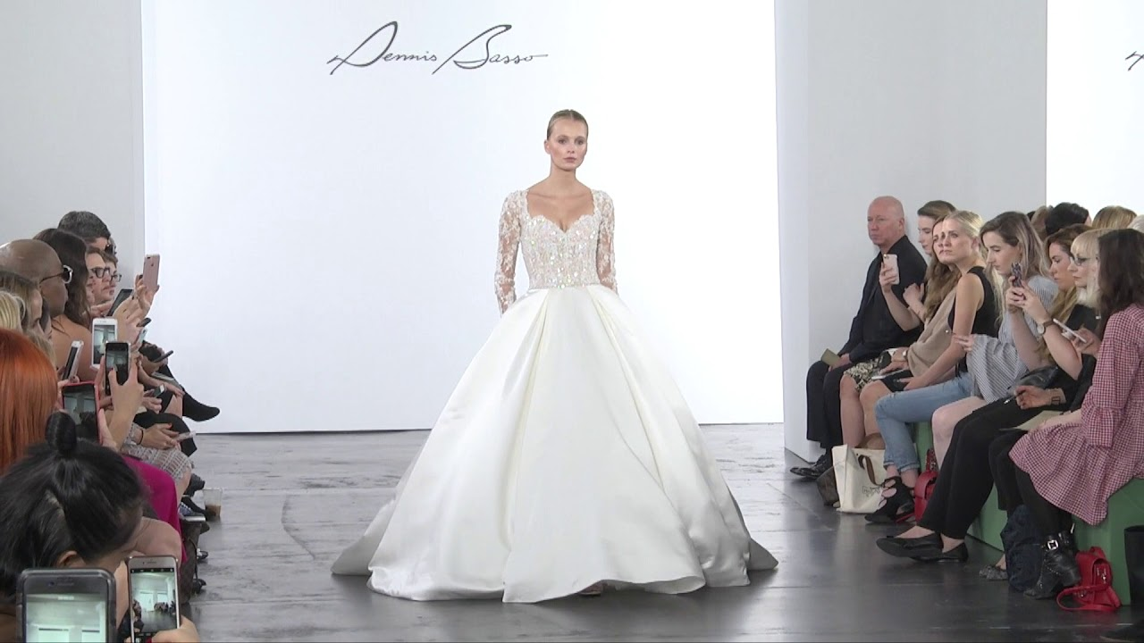 Fall Bride by Dennis Basso - YouTube