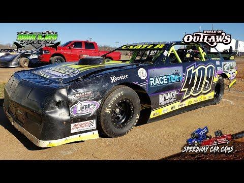 #409 Allen Carter - Street Stock - 3-22-19 Duck River Raceway Park - In Car Camera