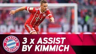 3 x Assist by Joshua Kimmich #FCBM05