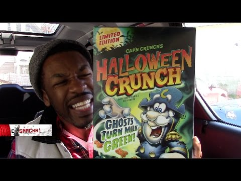 CAP'N CRUNCH (limited edition) Turn your milk green Halloween Cereal