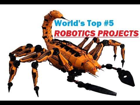 Robotics Projects Robotics Projects Ideas Robotics Engineering
