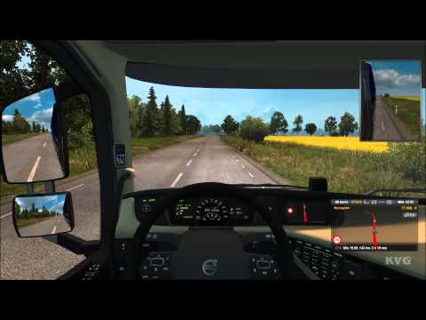 Euro Truck Simulator 2 - Scandinavia - Göteborg to Kalmar Gameplay (PC HD) [1080p]