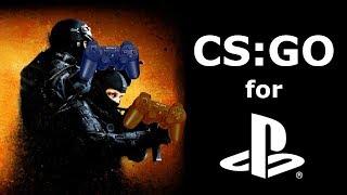 CS GO for the PS4 April Fools