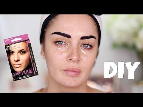 400f02b7d19 TINTING MY OWN LASHES & BROWS - DIY Eyelash & Eyebrow Dye Review - YouTube
