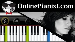 Christina Perri - Arms - Piano Tutorial