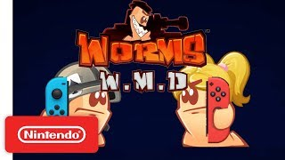 Worms W.M.D is Coming to Nintendo Switch!