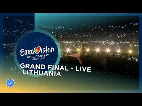 Ieva Zasimauskaitė - When We're Old - Lithuania - LIVE - Grand Final - Eurovision 2018