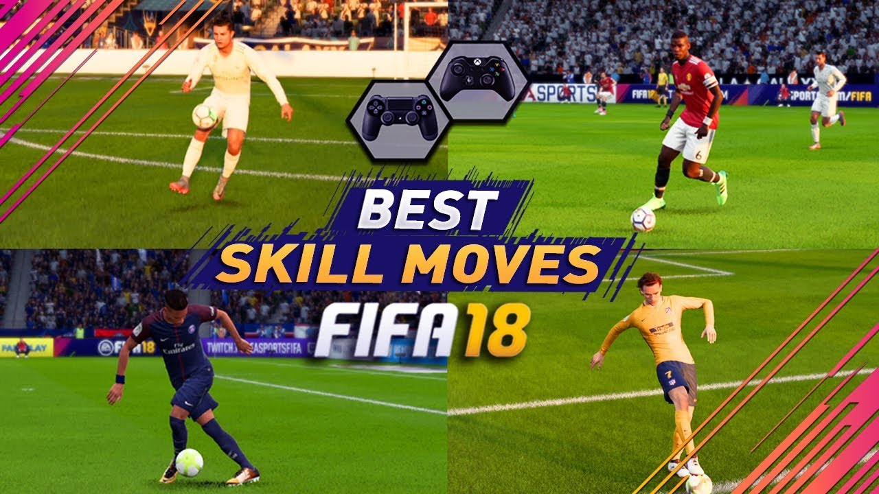 Fifa 18 Best Skills Tutorial Most Effective Skill Moves In Ps4 Tricks For Xbox One