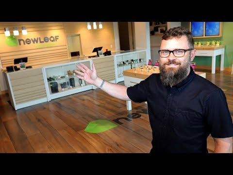 Take a look at one of Alberta's first retail cannabis shops