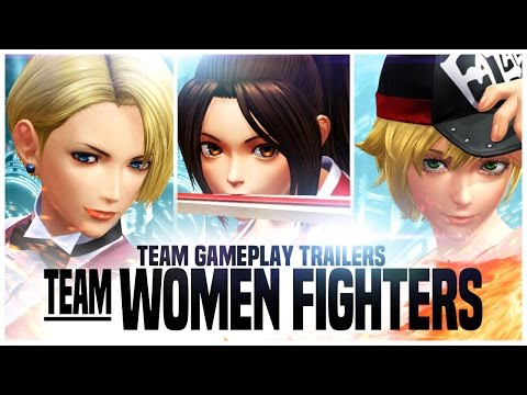 THE KING OF FIGHTERS XIV: Team Women Fighters Trailer [EU]