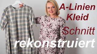 A kostenloses linie kleid schnittmuster Schnittmuster Kleid