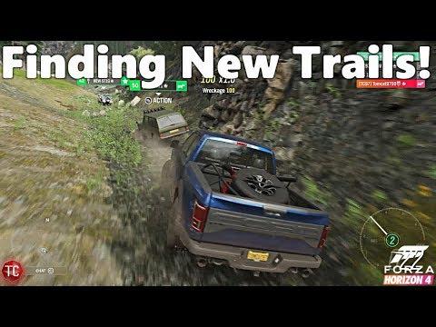 Forza Horizon 4: Multiplayer Off-Roading! Exploring NEW TRAILS!! thumbnail