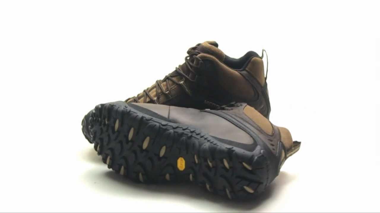1c84656e Merrell Chameleon 4 Mid Hiking Boots - Waterproof
