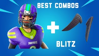 Best Sweaty Tryhard Combos for the Blitz Football Skin Fortnite