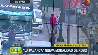 Cercado de Lima: mujeres son víctimas de nueva modalidad de robo en autos