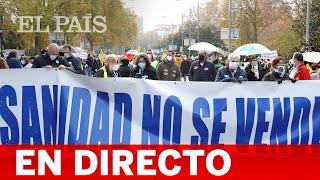 DIRECTO | La MAREA BLANCA sale a la calle contra la gestión sanitaria de AYUSO