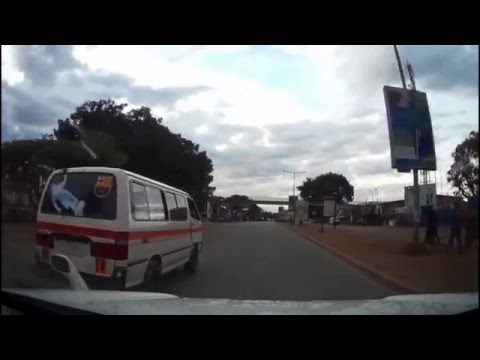 Zambia Experience: Driving Downtown Lusaka In The Early Morning