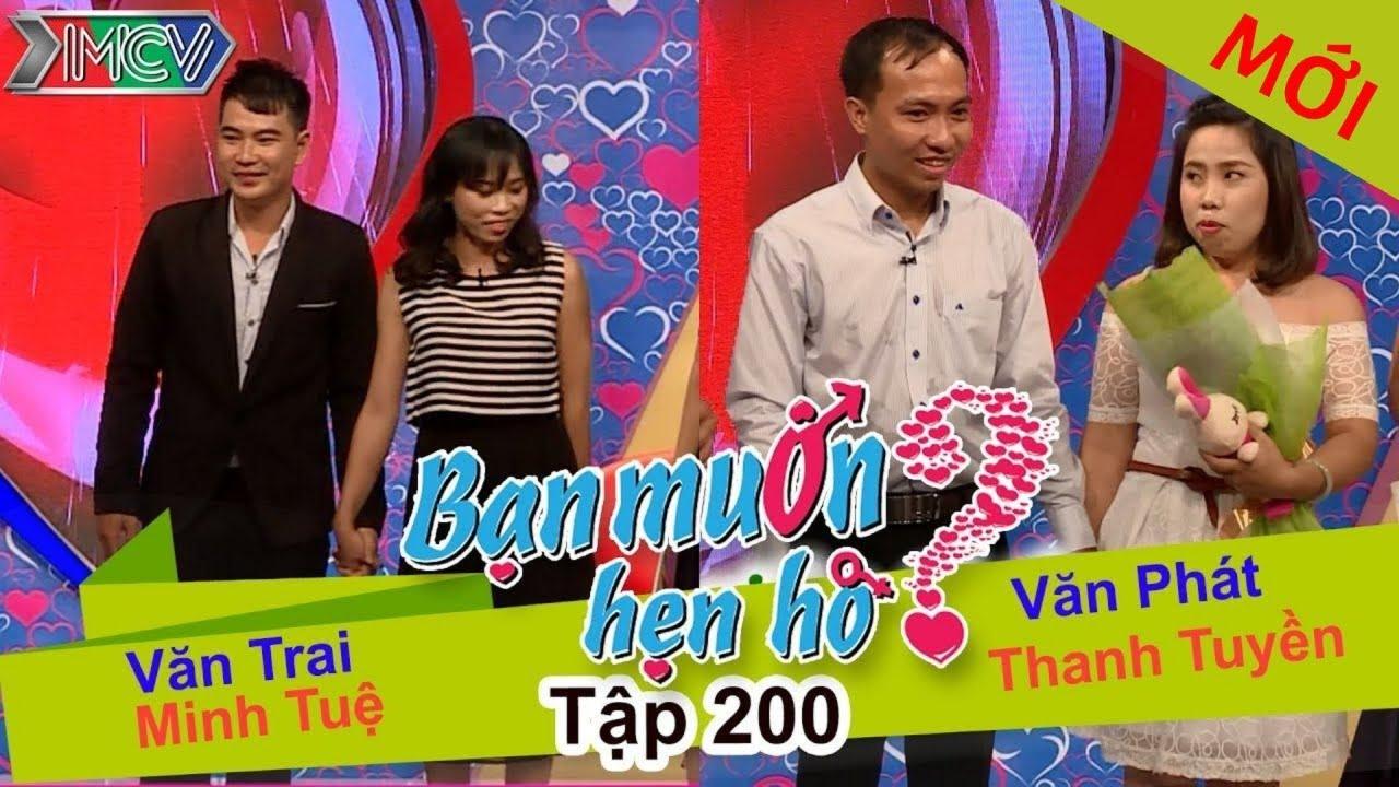 Văn Trai – Minh Tuệ | Văn Phát – Thanh Tuyền | BẠN MUỐN HẸN HÒ | Tập 200 | 05/09/2016